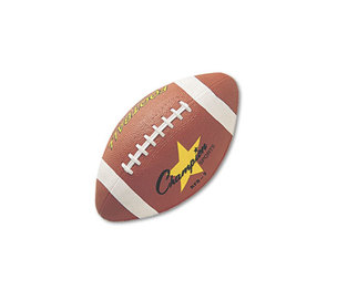 CHAMPION SPORTS RFB2 Rubber Sports Ball, For Football, Intermediate Size, Brown by CHAMPION SPORT