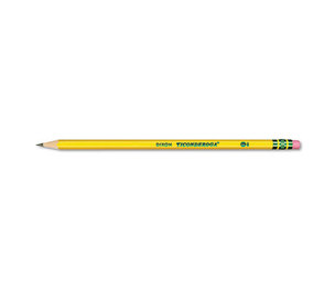 DIXON TICONDEROGA COMPANY 13872 Woodcase Pencil, HB #2, Yellow Barrel, 96 Per Pack by DIXON TICONDEROGA CO.