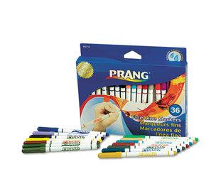 DIXON TICONDEROGA COMPANY 80712 Prang Markers, Fine Point, 36 Assorted Colors, 36/Set by DIXON TICONDEROGA CO.