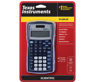 TI-30X IIS 2-Line Display Scientific Calculator