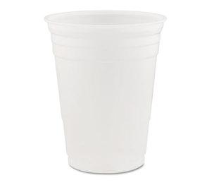 Dart Container Corporation DCC 16K Conex Translucent Plastic Cold Cups, 16oz, 1000/Carton by DART