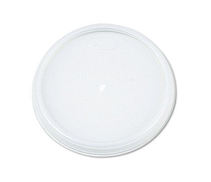 Dart Container Corporation 8JL Plastic Lids, for 8oz Hot/Cold Foam Cups, Vented, 1000 Lids/Carton by DART