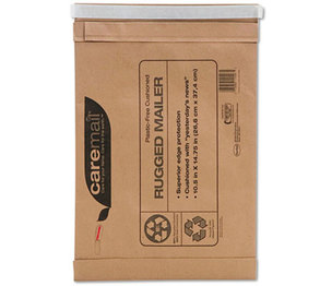 Shurtech Brands, LLC 1118685 Caremail Rugged Padded Mailer, Side Seam, 14 x 18 3/4, Light Brown, 25/Carton by SHURTECH