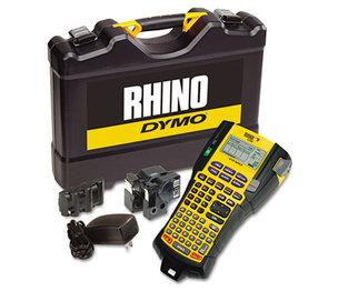 DYMO 1756589 Rhino 5200 Industrial Label Maker Kit, 5 Lines, 4 9/10w x 9 1/5d x 2 1/2h by DYMO