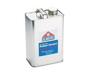 HUNT MFG. 234 Rubber Cement, Repositionable, 1 gal by ELMER'S PRODUCTS, INC.
