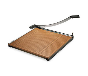 """ELMER'S PRODUCTS, INC 26624 Square Commercial Grade Wood Base Guillotine Trimmer, 20 Sheets, 24"""" x 24"""" by ELMER'S PRODUCTS, INC."""