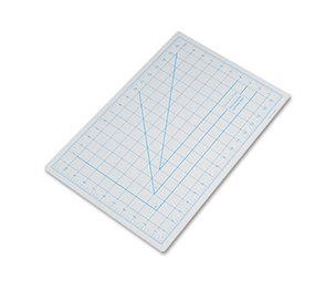 "ELMER'S PRODUCTS, INC X7761 Self-Healing Cutting Mat, Nonslip Bottom, 1"" Grid, 12 x 18, Gray by HUNT MFG."