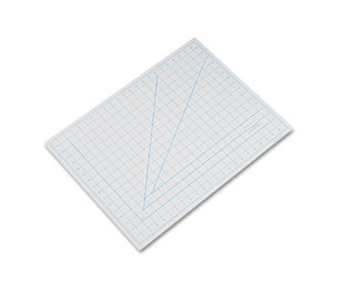 "ELMER'S PRODUCTS, INC X7762 Self-Healing Cutting Mat, Nonslip Bottom, 1"" Grid, 18 x 24, Gray by HUNT MFG."