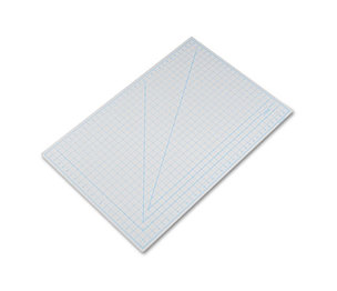"ELMER'S PRODUCTS, INC X7763 Self-Healing Cutting Mat, Nonslip Bottom, 1"" Grid, 24 x 36, Gray by HUNT MFG."
