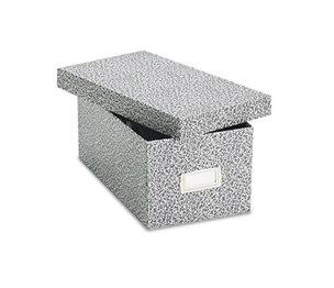 ESSELTE CORPORATION 40589 Reinforced Board Card File, Lift-Off Cover, 1,200 Cap., 22 1/3d x 20 5/8w, Black by ESSELTE PENDAFLEX CORP.