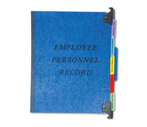 Cardinal Brands, Inc SER-2-BL Personnel Folders, 1/3 Cut Hanging Top Tab, Letter, Blue by ESSELTE PENDAFLEX CORP.