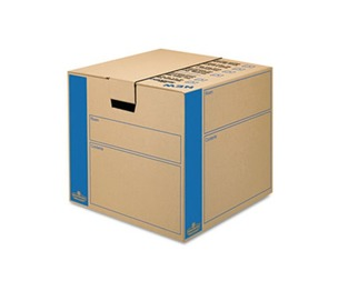 Fellowes, Inc 0062801 SmoothMove Prime Moving/Storage Boxes, 18 3/4l x 18 1/8w x 16 5/8h, Kraft, 8/CT by FELLOWES MFG. CO.