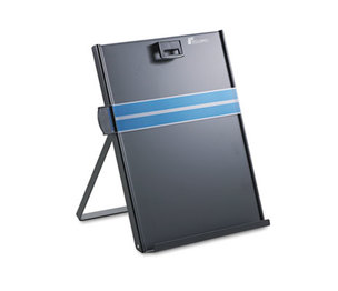 Fellowes, Inc 11053 Metal Copyholder, Stainless Steel, 200 Sheet Capacity, Black by FELLOWES MFG. CO.