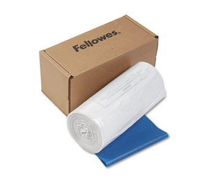 Fellowes, Inc 36054 Powershred Shredder Waste Bags, 14-20 gal Capacity, 50/CT by FELLOWES MFG. CO.