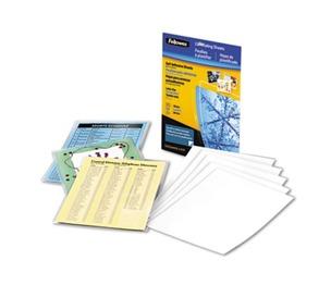 Fellowes, Inc FEL5221502 Self-Laminating Sheets, 3mil, 12 x 9 1/4, 50/Box by FELLOWES MFG. CO.