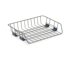 Fellowes, Inc 62112 Side-Load Wire Stacking Letter Tray, Wire, Black by FELLOWES MFG. CO.