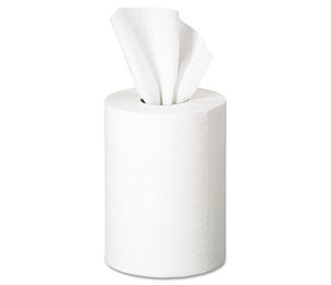 "Georgia Pacific Corp. 28125 Premium Jr. Cap. Center-Pull Towel, 7.80"" x 12"", White, 275/Roll, 8 Rolls/Carton by GEORGIA PACIFIC"