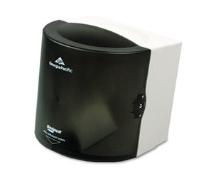 Georgia Pacific Corp. 58201 Center Pull Hand Towel Dispenser, 10 7/8w x 10 3/8d x 11 1/2h, Smoke by GEORGIA PACIFIC