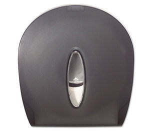 Georgia Pacific Corp. 59009 Jumbo Jr. Bathroom Tissue Dispenser, 10 3/5x5 39/100x11 3/10, Translucent Smoke by GEORGIA PACIFIC