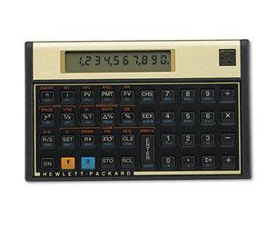 Hewlett-Packard 12C 12C Financial Calculator, 10-Digit LCD by HEWLETT PACKARD COMPANY