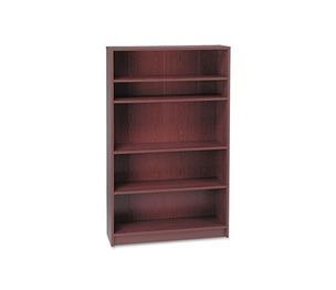 HON COMPANY 1875N 1870 Series Bookcase, Five Shelf, 36w x 11 1/2d x 60 1/8h, Mahogany by HON COMPANY