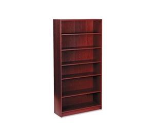 HON COMPANY 1876N 1870 Series Bookcase, Six Shelf, 36w x 11 1/2d x 72 5/8h, Mahogany by HON COMPANY