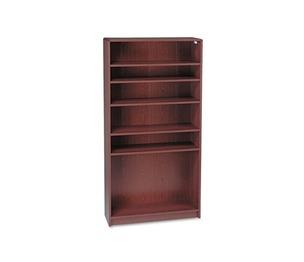 HON COMPANY 1896N 1890 Series Bookcase, Six Shelf, 36w x 11 1/2d x 72 5/8h, Mahogany by HON COMPANY