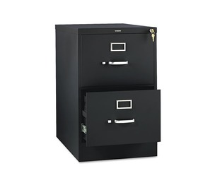 HON COMPANY 312CPP 310 Series Two-Drawer, Full-Suspension File, Legal, 26-1/2d, Black by HON COMPANY