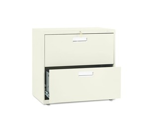 HON COMPANY 672LL 600 Series Two-Drawer Lateral File, 30w x 19-1/4d, Putty by HON COMPANY