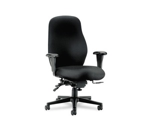 HON COMPANY 7808NT10T 7800 Series High-Performance High-Back Executive/Task Chair, Tectonic Black by HON COMPANY
