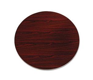 "10500 Series Round Table Top, 42"" Diameter, Mahogany by HON COMPANY"
