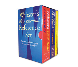 HOUGHTON MIFFLIN COMPANY 1020842 Webster's New Essential Reference Three-Book Desk Set, Paperback by HOUGHTON MIFFLIN COMPANY
