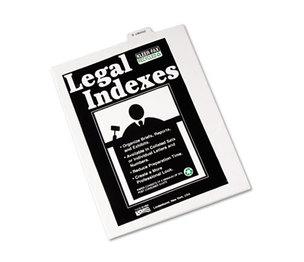 """Kleer-Fax, Inc 81156 80000 Series Legal Index Dividers, Bottom Tab, Printed """"Exhibit Q"""", 25/Pack by KLEER-FAX"""