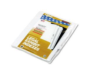 """Kleer-Fax, Inc 91818 90000 Series Alpha Side Tab Legal Index Divider, Preprinted """"R"""", 25/Pack by KLEER-FAX"""
