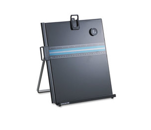 ACCO Brands Corporation S7062046B Letter-Size Freestanding Desktop Copyholder, Stainless Steel, Black by ACCO BRANDS, INC.