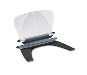 ACCO Brands Corporation K62097US Insight In-Line Desktop/Platform Copyholder w/SmartFit System, Metal, White by ACCO BRANDS, INC.