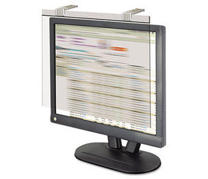 "Kantek, Inc LCD17SV LCD Protect Privacy Antiglare Deluxe Filter, 17""-18"" LCD, Silver by KANTEK INC."