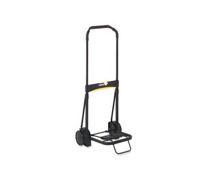 Kantek, Inc LGLC200 Ultra-Lite Folding Cart, 250lb Capacity, 11 x 13 1/4 Platform, Black by KANTEK INC.