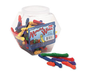 LEARNING RESOURCES/ED.INSIGHTS LER0176 Measuring Worms, Math Manipulatives, for Grades Pre-K and Up by LEARNING RESOURCES