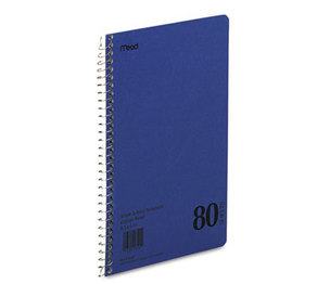 MeadWestvaco 0654406 DuraPress Cover Notebook, College Rule, 6 x 9 1/2, White, 80 Sheets by MEAD PRODUCTS