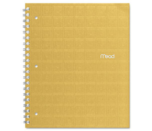 MeadWestvaco 06594 Recycled Notebook, College Ruled, 8 1/2 x 11, 80 Sheets, Perforated, Assorted by MEAD PRODUCTS