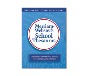 Advantus Corporation MER78 School Thesaurus, Grades 9-11, Hardcover, 704 Pages by ADVANTUS CORPORATION