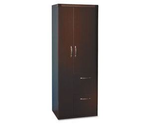 Mayline Group APST2LDC Aberdeen Series Personal Storage Tower, Box 2 Of 2, 24w x 24d x 68-3/4h, Mocha by MAYLINE COMPANY