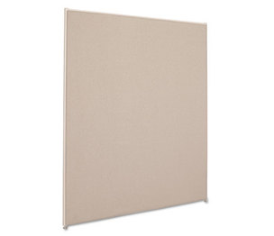 BASYX P6048GYGY Vers Office Panel, 48w x 60h, Gray by BASYX