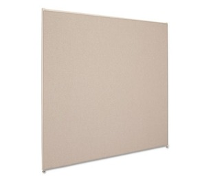 BASYX P6060GYGY Vers Office Panel, 60w x 60h, Gray by BASYX