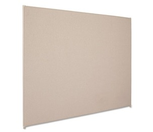 BASYX P6072GYGY Vers Office Panel, 72w x 60h, Gray by BASYX