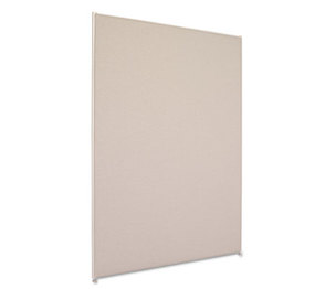 BASYX P7248GYGY Vers Office Panel, 48w x 72h, Gray by BASYX