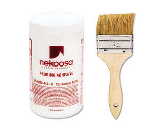 Nekoosa Coated Products 42284 Coated Products Fan-out Padding Adhesive, 32 oz, Liquid by NEKOOSA COATED PRODUCTS LLC
