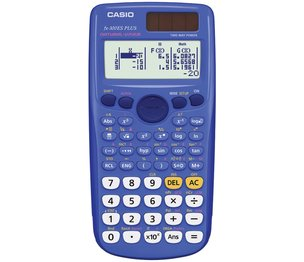 Casio Computer Co., Ltd FX-300ESPLUS-BE FX-300 ES PLUS Scientific Calculator (Blue)