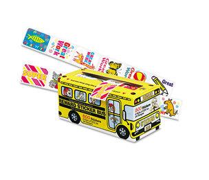 PACON CORPORATION 0051450 Big School Bus Reward Stickers, Assorted Designs, 800 Stickers per Box by PACON CORPORATION